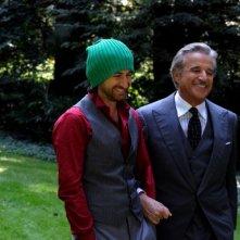 Il principe abusivo: Alessandro Siani e Christian De Sica sul set del film