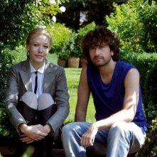 Il principe abusivo: Alessandro Siani e Sarah Felberbaum in una foto promozionale