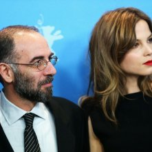 Giuseppe Tornatore e Sylvia Hoeks a Berlino 2013 per presentare La migliore offerta