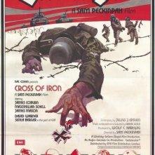 La croce di ferro: poster originale