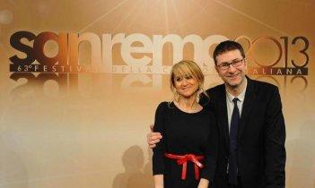 Sanremo 2013: Fabio Fazio e Luciana Littizzetto presentano il Festival