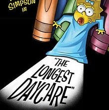 The Simpsons: The Longest Daycare: la locandina del film