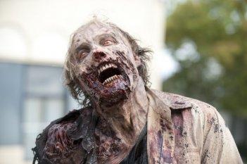 The Walking Dead: il terrificante primo piano di un Errante nell'episodio Fratello