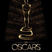 Academy Awards 2013: il poster ufficiale con i nominati