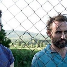 Il terzo tempo: Lorenzo Richelmy e Stefano Cassetti in una scena