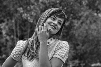 L'attrice Valeria Bilello