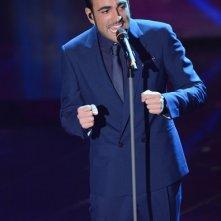 Sanremo 2013: Marco Mengoni durante la prima serata