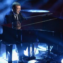 Sanremo 2013: Raphael Gualazzi durante la prima serata