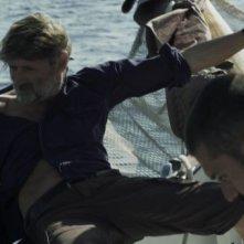 Andarevia: Matteo Quinzi e Andrea Vergoni in una scena del film