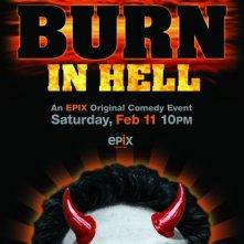 Kevin Smith Burns in Hell: la locandina del film