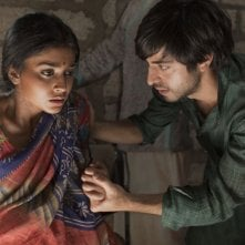 Midnight's Children: Shriya Saran e Satya Bhabha in una scena