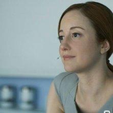Oblivion: Andrea Riseborough in una scena