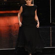 Sanremo 2013: Malika Ayane durante la seconda serata