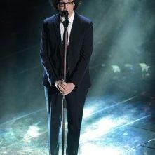 Sanremo 2013: Simone Cristicchi durante la seconda serata