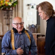 The Sessions - Gli appuntamenti: il regista Ben Lewin insieme all'attore William H. Macy sul set