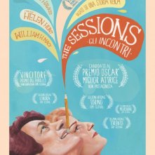 The Sessions: la locandina italiana
