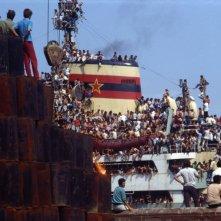 Anija - La nave: una scena tratta dal documentario di Roland Sejko