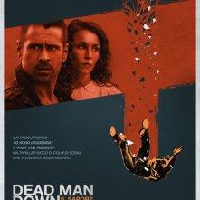 Dead Man Down - Il sapore della vendetta: il poster italiano