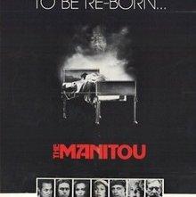 Manitù, lo spirito del male: la locandina del film