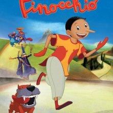 Pinocchio: la locandina italiana con Pinocchio che corre