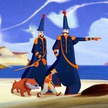Pinocchio: una scena del film animato diretto da Enzo D'Alò