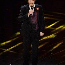 Sanremo 2013: Max Gazzè durante la terza serata