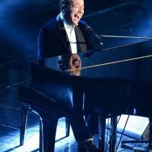 Sanremo 2013: Raphael Gualazzi durante la terza serata
