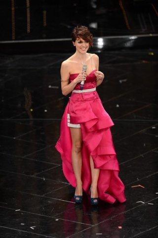 Sanremo 2013: Simona Molinari durante la terza serata