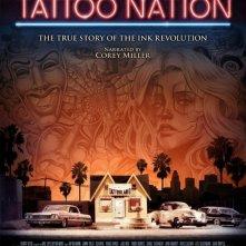 Tattoo Nation: la locandina del film