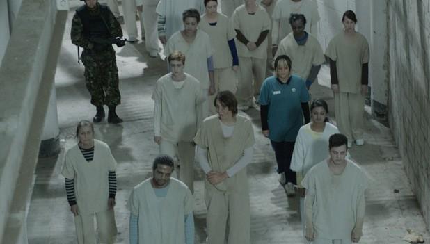 Una scena del centro di riabilitazione per i non-viventi della serie televisiva In the Flesh
