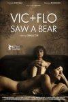 Vic and Flo Saw a Bear: la locandina del film
