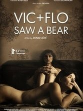 Vic and Flo Saw a Bear: la locandina del film