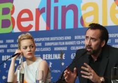 Emma Stone e Nicolas Cage 'cavernicoli': a Berlino arrivano I Croods