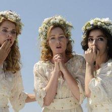 Amiche da morire: le protagoniste Claudia Gerini, Cristiana Capotondi e Sabrina Impacciatore in una scena