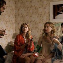 Amiche da morire: Vinicio Marchioni, Claudia Gerini, Cristiana Capotondi e Sabrina Impacciatore in un'immagine del film