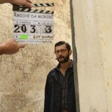 Amiche da morire: Vinicio Marchioni sul set del film