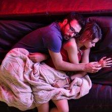 Buongiorno papà: Edoardo Leo in una tenera scena con Rosabell Laurenti-Sellers