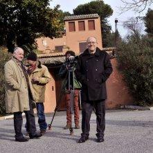 Alberto il Grande: Carlo e Luca Verdone sul set del documentario su Alberto Sordi