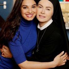 Che Dio ci aiuti 2: Elena Sofia Ricci e Francesca Chillemi in una immagine promozionale della fiction