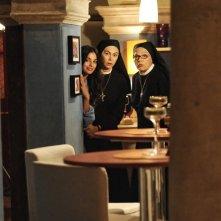 Che Dio ci aiuti 2: Elena Sofia Ricci, Francesca Chillemi e Valeria Fabrizi in una scena della fiction