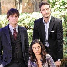 Che Dio ci aiuti 2: Lino Guanciale, Francesca Chillemi e Jgor Barbazza in una scena della fiction