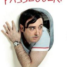 Gli amanti passeggeri: il character poster italiano con Carlos Areces