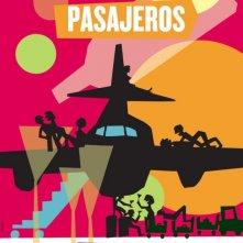Gli amanti passeggeri: il poster spagnolo del film
