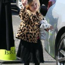 La piccola Vivienne Jolie Pitt nel febbraio 2013