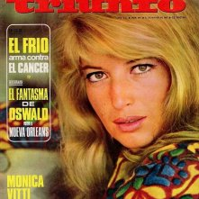 Copertina spagnola dedicata a Monica Vitti in La cintura di castità