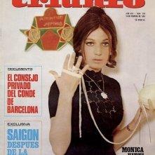 Copertina spagnola dedicata a Monica Vitti nel film La ragazza con la pistola