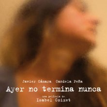 Ayer no termina nunca: il poster spagnolo del film