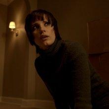 La madre: Jessica Chastain in una scena del film horror diretto da Andres Muschietti