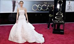 Oscar 2013: un tappeto rosso splendente e vaporoso