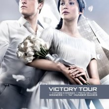 The Hunger Games: Catching Fire - Victory Tour Poster 2